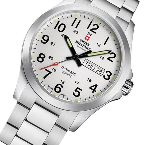 Swiss Military Stainless Steel Men's Watch - SMP36040.26