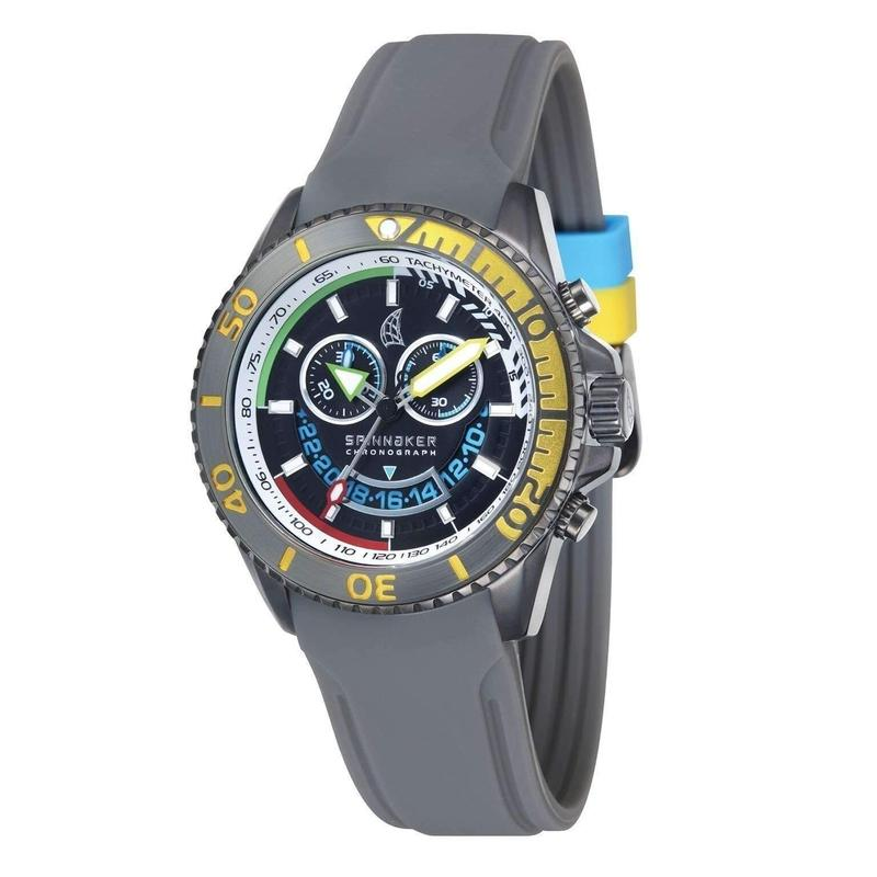 Spinnaker Amalfi Chronograph Silicone Mens Watch - SP-5021-02