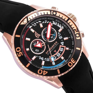 Spinnaker Amalfi Chronograph Silicone Mens Watch - SP-5021-0C