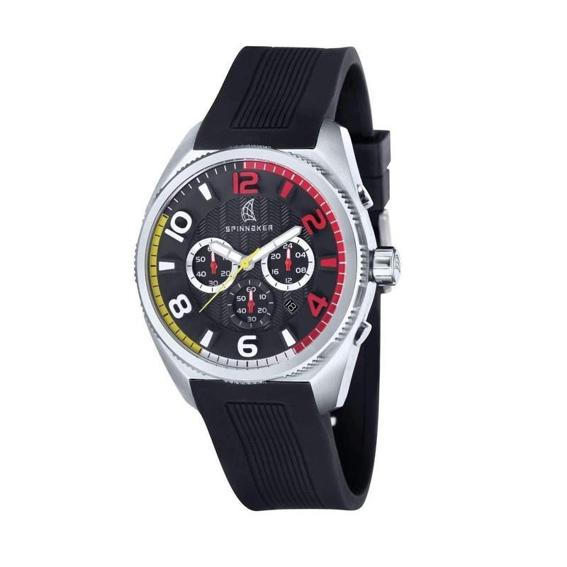 Spinnaker AmalfiChrono Silicone Mens Watch - SP-5021-0D