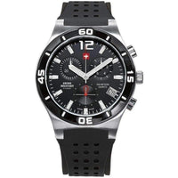 Swiss Military Chronograph Rubber Mens Watch - SM34015.05