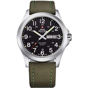 Swiss Military Fabric Strap Mens Watch - SMP36040.05
