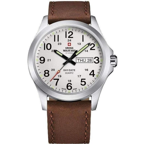 Swiss Military Leather Men's Watch - SMP36040.16