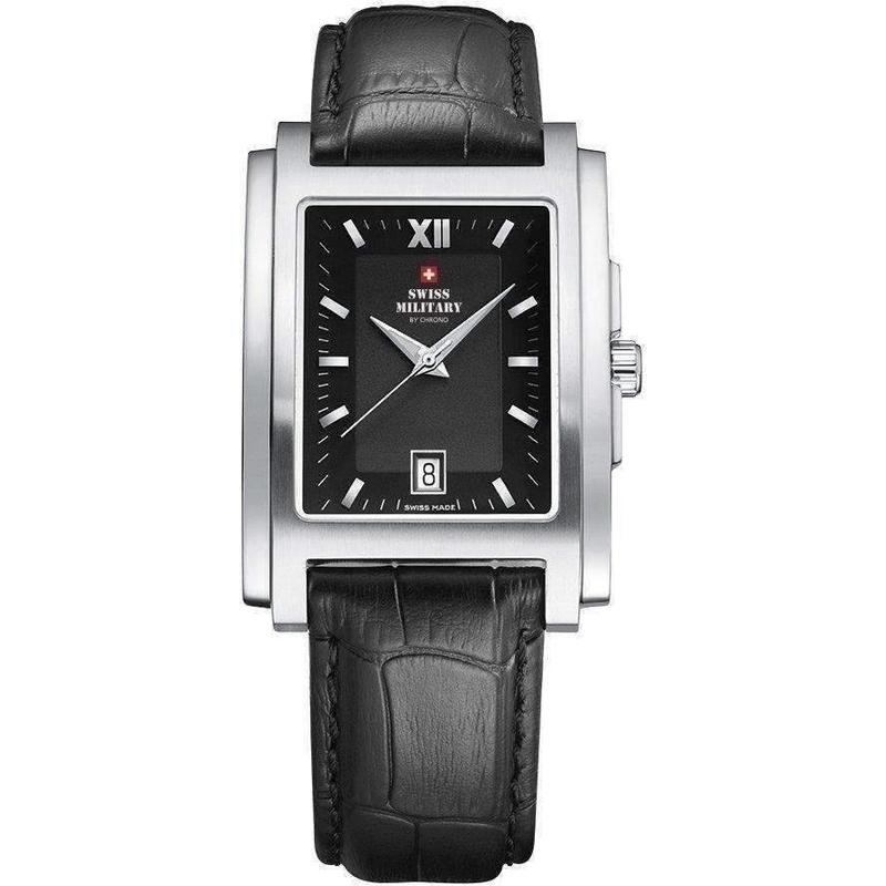 Swiss Military Mens Leather Watch - SM30053.05