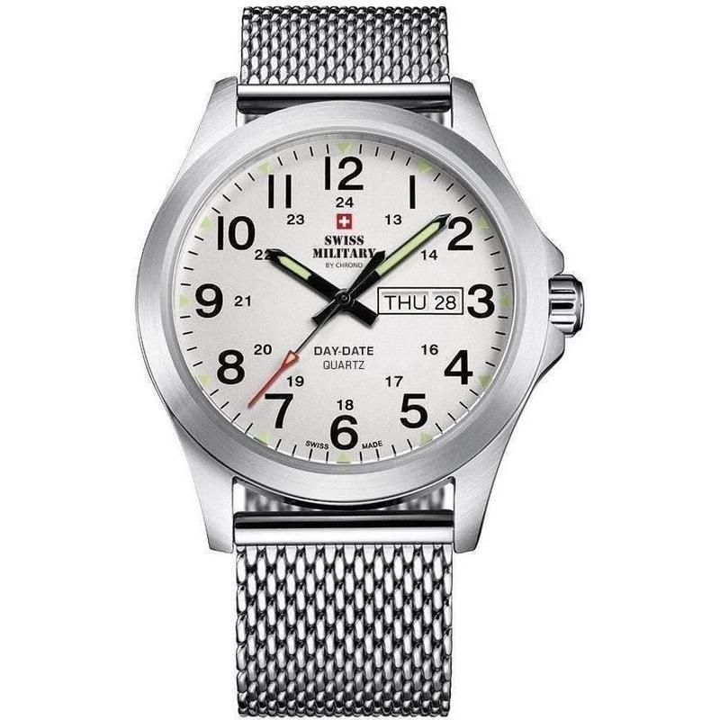 Swiss Military Mesh Mens Watch - SMP36040.14