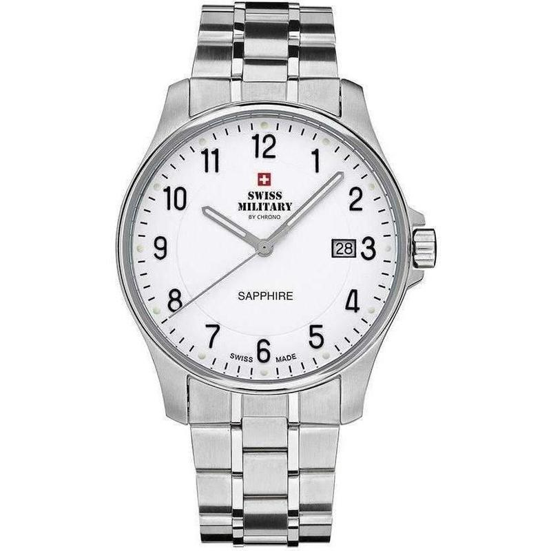 Swiss Military Stainless Steel Mens Watch - SM30137.02
