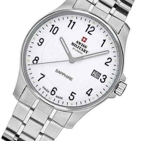 Swiss Military Stainless Steel Men's Watch - SM30137.02