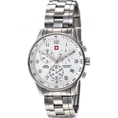 Swiss Military Stainless Steel Men's Watch - SM34012.02