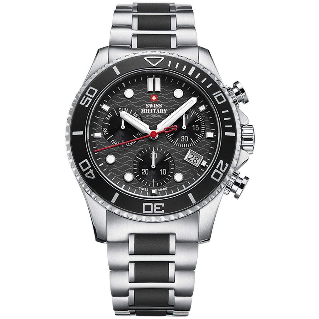 Swiss Military Stainless Steel Men's Watch - SM34051.01