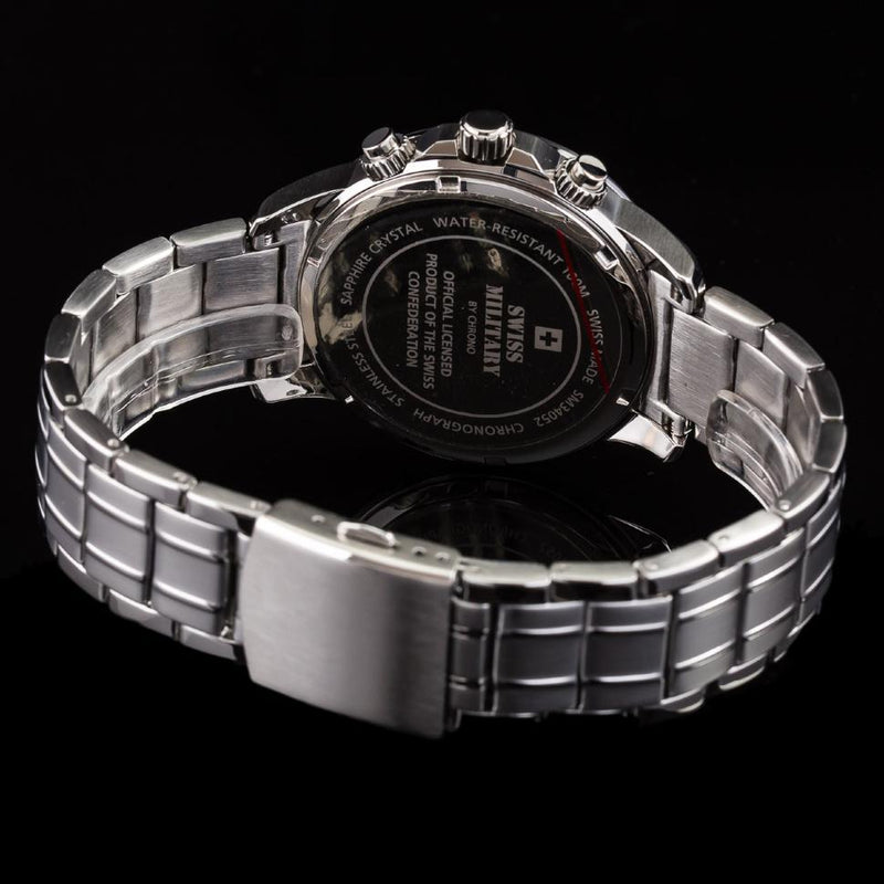 Swiss Military Stainless Steel Men's Watch - SM34052.01
