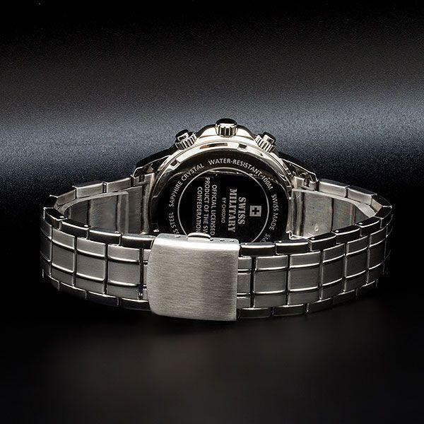 Swiss Military Stainless Steel Men's Watch - SM34052.03
