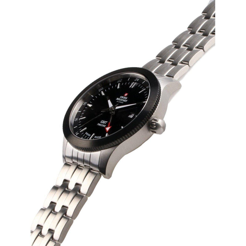 Swiss Military Stainless Steel Men's Watch - SM34053.01