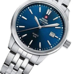 Swiss Military Stainless Steel Mens Watch - SMP36009.03