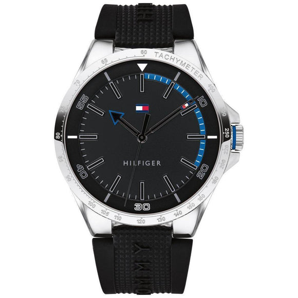 Tommy Hilfiger Black Sports Men's Watch - 1791528