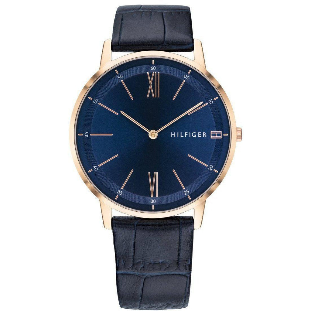 Tommy Hilfiger Classic Leather Men's Watch - 1791515