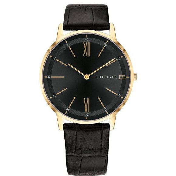 Tommy Hilfiger Classic Leather Men's Watch - 1791517