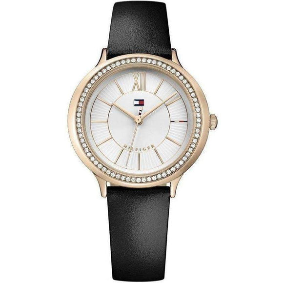 Tommy Hilfiger Ladies Leather Watch - 1781853-The Watch Factory Australia
