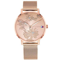 Tommy Hilfiger Ladies Mesh Watch - 1781922-The Watch Factory Australia