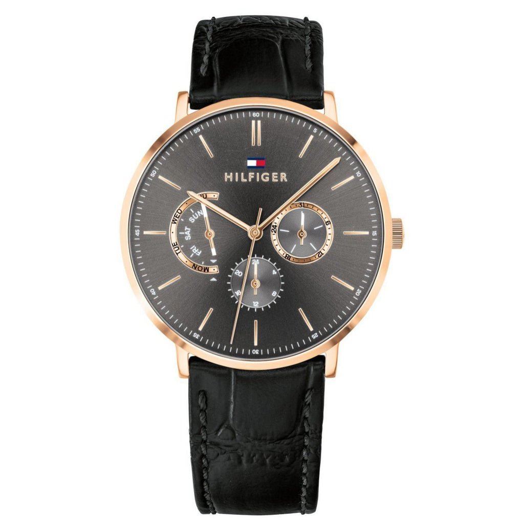 Tommy Hilfiger Leather Men's Watch - 1710377
