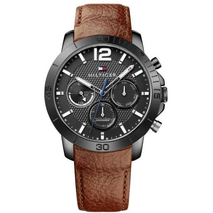 Tommy Hilfiger Leather Men's Watch - 1791269