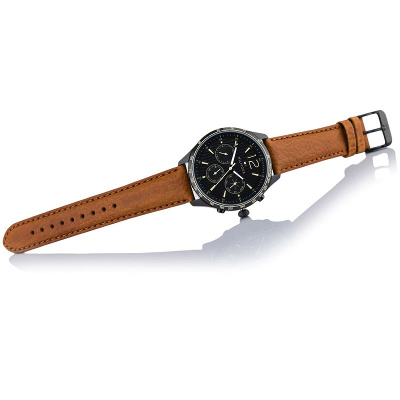 Tommy Hilfiger Men's Brown Leather Watch - 1791470