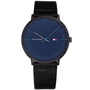 Tommy Hilfiger Men's Casual Leather Watch - 1791462-The Watch Factory Australia