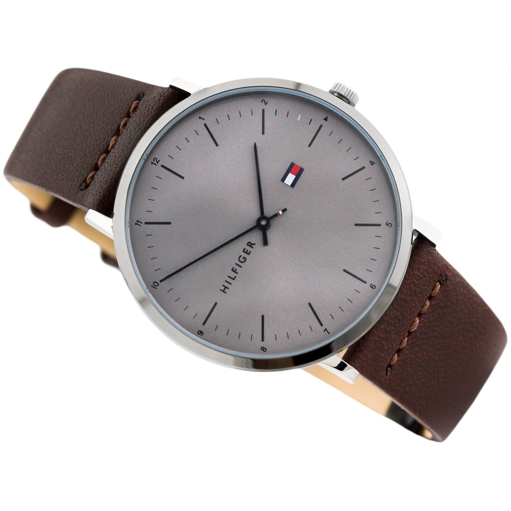 9ebecad4d Tommy Hilfiger Men's Casual Leather Watch - 1791463 – The Watch ...