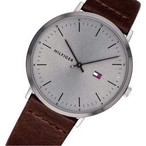 Tommy Hilfiger Men's Casual Leather Watch - 1791463