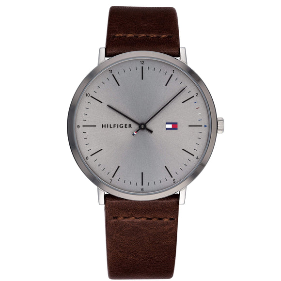 Tommy Hilfiger Men's Casual Leather Watch - 1791463-The Watch Factory Australia