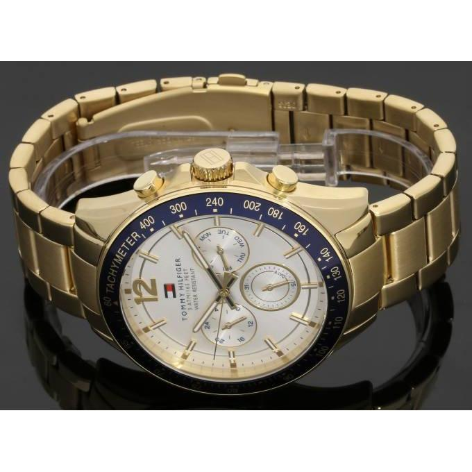 Tommy Hilfiger Men's Gold Watch - 1791121-The Watch Factory Australia