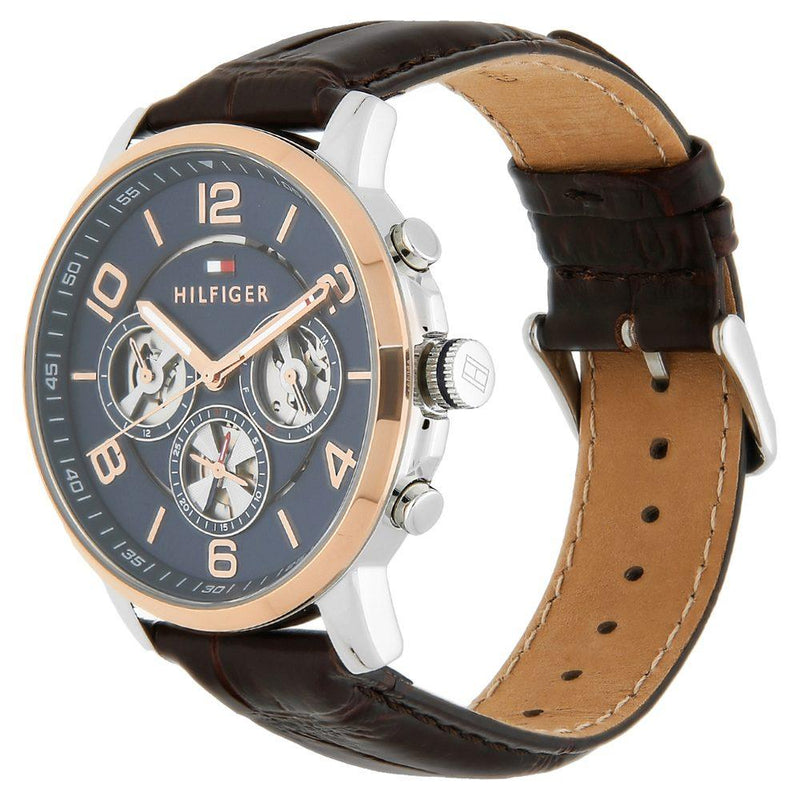 Tommy Hilfiger Men's Keagan Leather Sport Watch - 1791290-The Watch Factory Australia