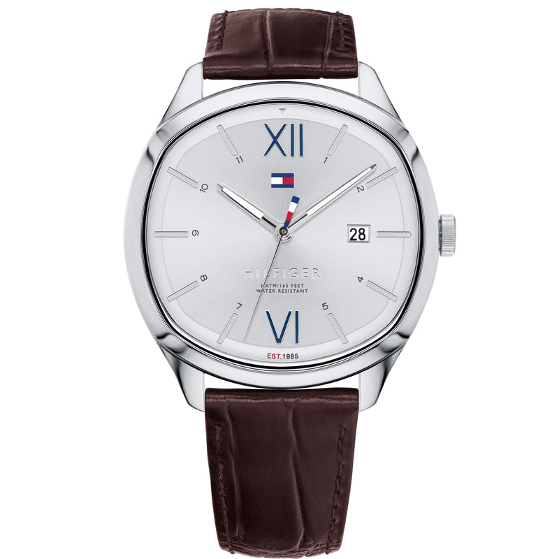 Tommy Hilfiger Men's Leather Sport Watch - 1710364-The Watch Factory Australia