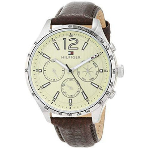 Tommy Hilfiger Men's Leather Watch - 1791467