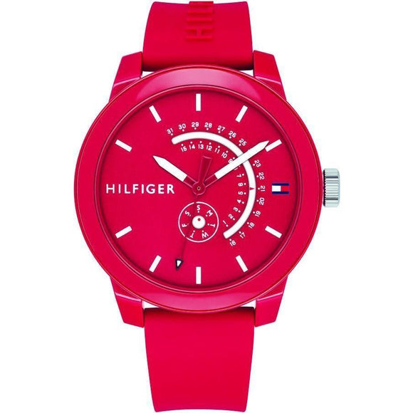 Tommy Hilfiger Men's Silicone Sport Watch - 1791480-The Watch Factory Australia