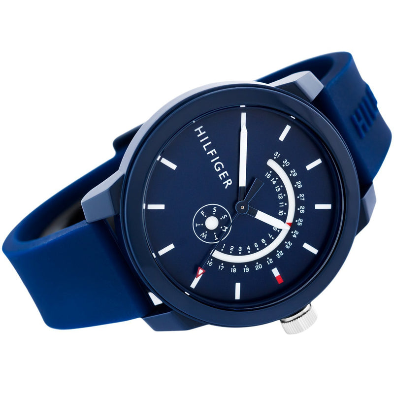 Tommy Hilfiger Men's Silicone Sport Watch - 1791482