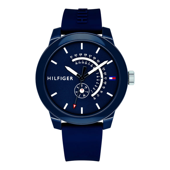 Tommy Hilfiger Men's Silicone Sport Watch - 1791482-The Watch Factory Australia