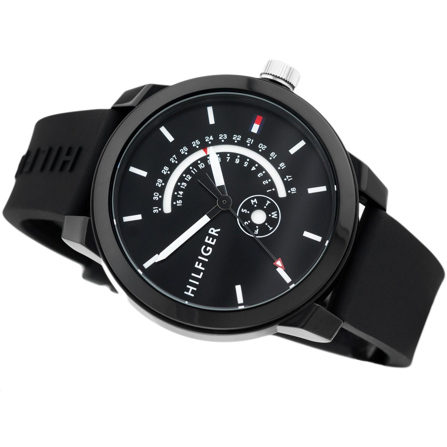 00d7eaa51 Tommy Hilfiger Men's Silicone Sport Watch - 1791483 – The Watch ...
