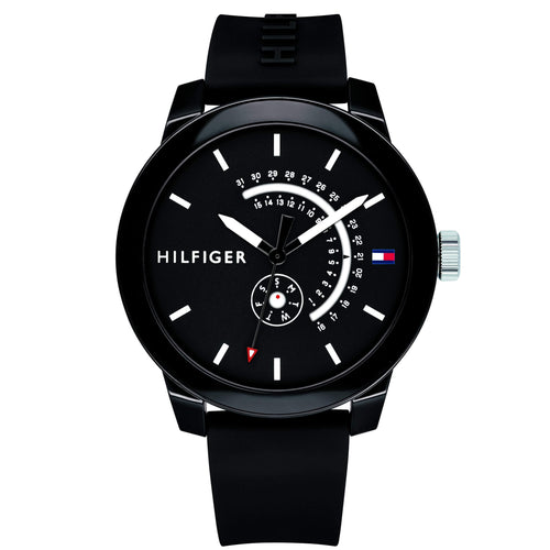 Tommy Hilfiger Men's Silicone Sport Watch - 1791483-The Watch Factory Australia