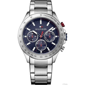 Tommy Hilfiger Multi-Function Blue Dial Men's Watch - 1791228-The Watch Factory Australia