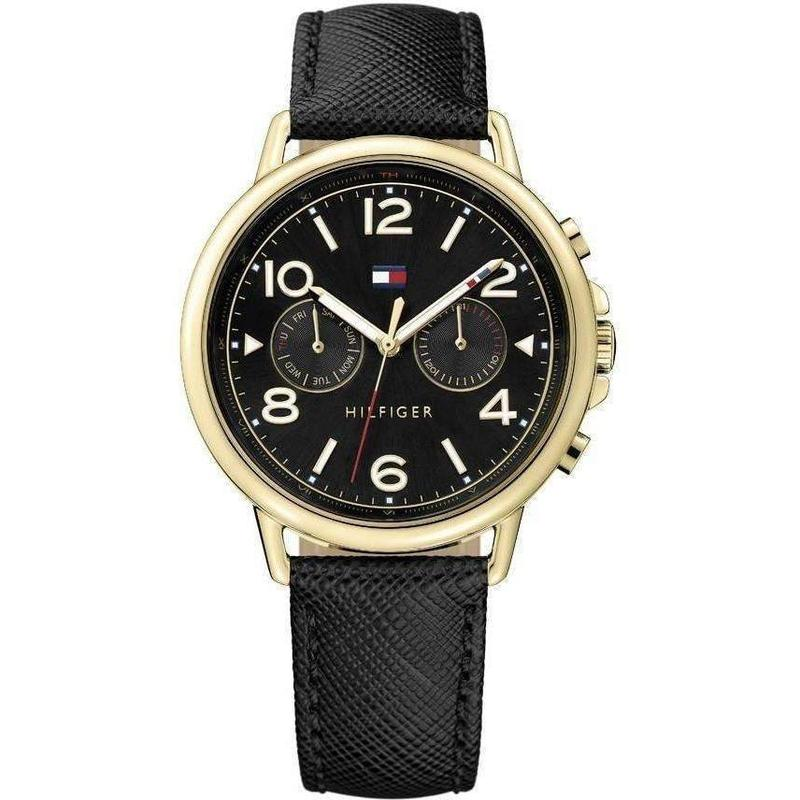Tommy Hilfiger Multi-functional Leather Ladies Watch - 1781735-The Watch Factory Australia