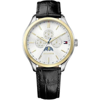 Tommy Hilfiger Multi-functional Leather Mens Watch - 1791305-The Watch Factory Australia