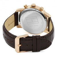 Tommy Hilfiger Multi-functional Leather Mens Watch - 1791399-The Watch Factory Australia