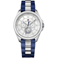 Tommy Hilfiger Multi-functional Rubber Ladies Watch - 1781771-The Watch Factory Australia
