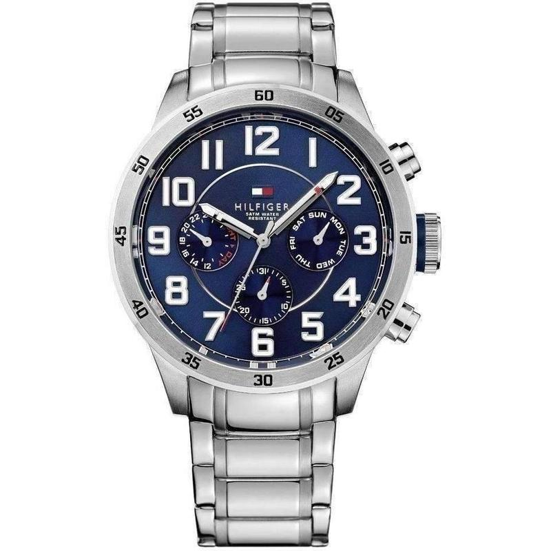 Tommy Hilfiger Multi-functional Stainless Steel Mens Watch - 1791053-The Watch Factory Australia