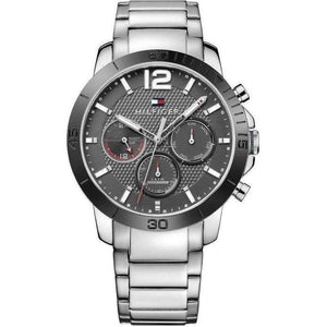 Tommy Hilfiger Multi-functional Stainless Steel Mens Watch - 1791272-The Watch Factory Australia