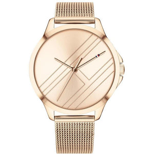 Tommy Hilfiger Rose Gold Mesh Women's Watch - 1781963