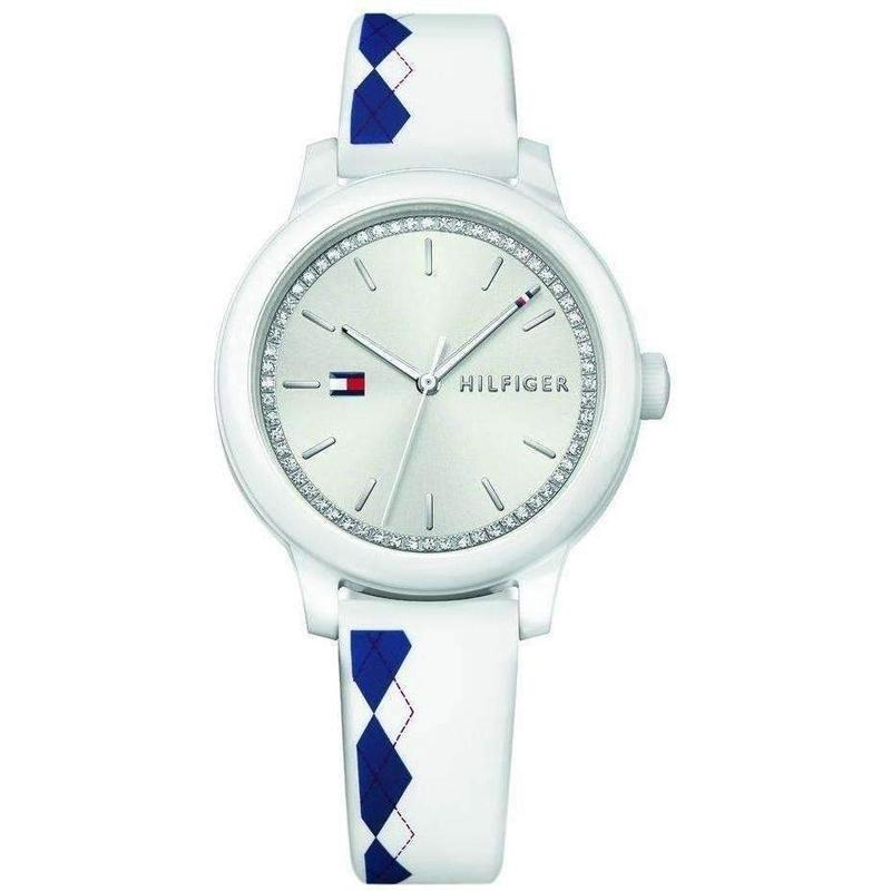 Tommy Hilfiger Silicone Ladies Watch - 1781812-The Watch Factory Australia