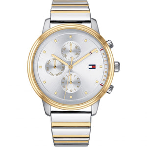 Tommy Hilfiger Silver & Gold Men's Watch - 1781908-The Watch Factory Australia