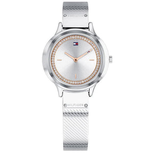 Tommy Hilfiger Silver Ladies Watch - 1781909-The Watch Factory Australia