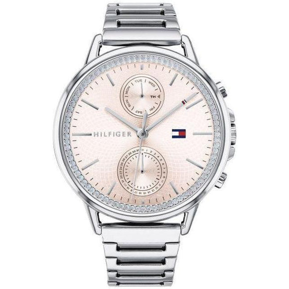 Tommy Hilfiger Silver Ladies Watch - 1781917-The Watch Factory Australia